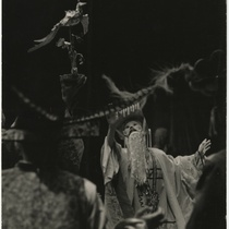 "Scene from the play, ""El lindo ruiseñor"" (The Nightingale)"