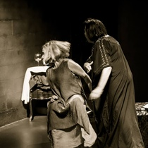 "Photograph of a Rehearsal, ""Gas en los poros"""