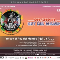Postcard for the production, Yo soy el Rey del Mambo