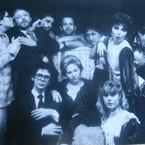 Photograph of the theatrical production, Te juro Juana que tengo ganas