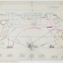 "Lighting map for the production, ""Coimbra"""