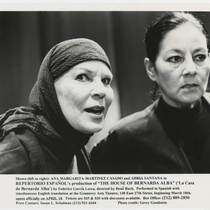 "Photograph of the production, ""La casa de Bernarda Alba"""