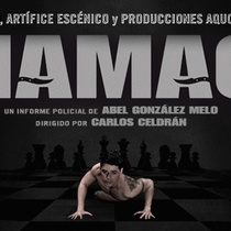 "Banner for the production, ""Chamaco"""