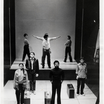 "Photograph from the production, ""Swallows"""