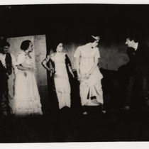 "Scene from the play, ""Las impuras"" (The impure ones)"