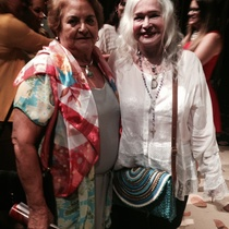 Photograph of Martha del Río and Teresa María Rojas
