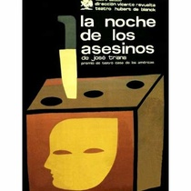Poster for the production, La noche de los asesinos