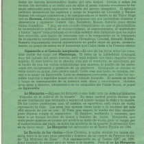 "Program for the productions, ""Sganarelle o El cornudo imaginario"", ""La margarita"", and ""La escuela de las viudas"""