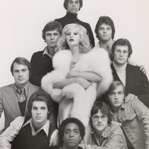 "Candy Darling (Whore) and Men in the production, ""The White Whore and the Bit Player"""