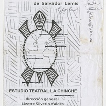 Program for the theatrical production, Galápago