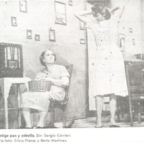 Photograph of the production, Contigo pan y cebolla