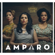 Advertising photographs of the theatrical production, The Amparo Experience