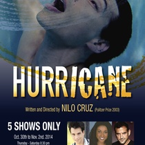 "Poster for the production, ""Hurricane"""