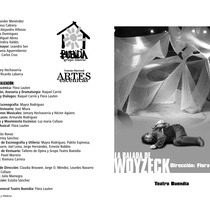 "Program for the production, ""La balada de Woyzeck"""