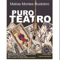 "Program for the production, ""Puro Teatro"""