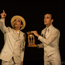 Photographs for the theatrical production, Los zapaticos de rosa