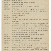 "Typescript for the play, ""Ella, él…y el otro"""
