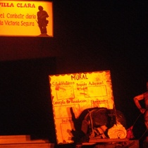 "Photograph of the production, ""Rapsodia para el mulo"""