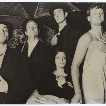 "Javier Siut, Jorge Usatorres, Greg Johnson and Patricia Azán, in ""Fando y Lis"""