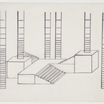 Sketch of stairs