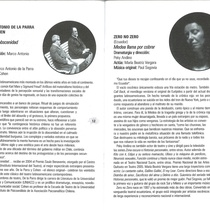 Program for Mayo Teatral 2006