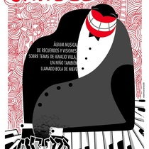 "Poster for the production, ""Por el monte carulé"""