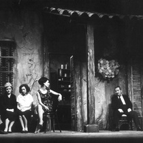 "Photograph of the production, ""La casa vieja"""