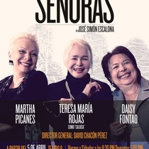 "Poster for the production, ""Señoras"""