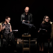 "Photograph of the Reading, ""Ifigenia Inmóvil"""