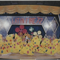 "Program for the production, ""Latin Fire 72"""