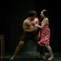 "Photographs of a rehearsal, ""Fango"""