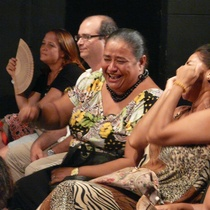 "Audience in the performance, ""Cubalandia"""
