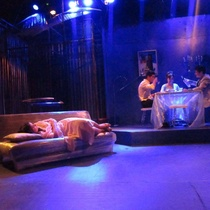Photograph of the production, Un mundo de cristal