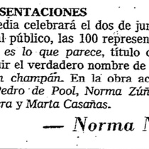Press clipping for the production, Mi hijo no es lo que parece