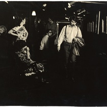 "Scene from the play, ""La casa vieja"" (The Old House)"