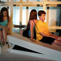 "Photographs of a production, ""Luna Park"""