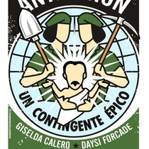 "Poster for the production, ""Antigonón"""