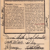 Signed Review of Production, Cap-a-Pie