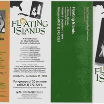 Flyer for the production, Floating Islands