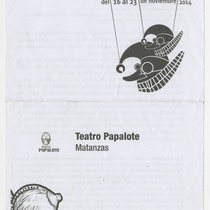 "Program for the production, ""Macbeth"""