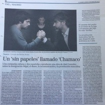 "Review of the production, ""Chamaco"""