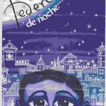 Poster for the theatrical production, Federico de noche