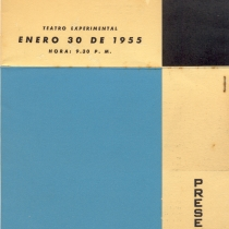 "Programs for the productions, ""Gente desconocida"" and ""La liberación de Romeo"""