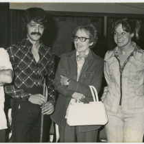 Teresa María Rojas (second from right)