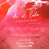 Poster for the production, El cuarto de al lado,