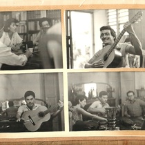Photographs of the daily life of members of Teatro Escambray in La Macagua