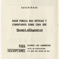 "Program for the production, ""Las Leandras"" (The Leandras)"