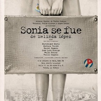 Poster for the staged reading of Sonia se fue (Camagüey)