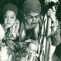 "Photograph of the production, ""Cefi y la muerte"" (Santiago de Cuba, 1978)"