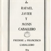 "Program for the production, ""Filomena Marturano"""